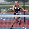 5-19-17<br /> Girls tennis sectional championship<br /> Western 3 singles Tara Hellriegel<br /> Kelly Lafferty Gerber | Kokomo Tribune