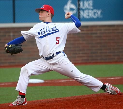 5-2-17<br /> Kokomo vs Zionsville baseball<br /> Brian Harding pitches.<br /> Kelly Lafferty Gerber   Kokomo Tribune