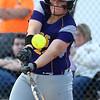 5-30-17<br /> Northwestern vs South Bend Saint Joseph<br /> Crystal Metz bats and hits a double causing Bailey Thatcher to score.<br /> Kelly Lafferty Gerber | Kokomo Tribune