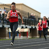 5-11-17<br /> Kokomo track and field<br /> Tionna Brown in the 100 dash.<br /> Kelly Lafferty Gerber | Kokomo Tribune