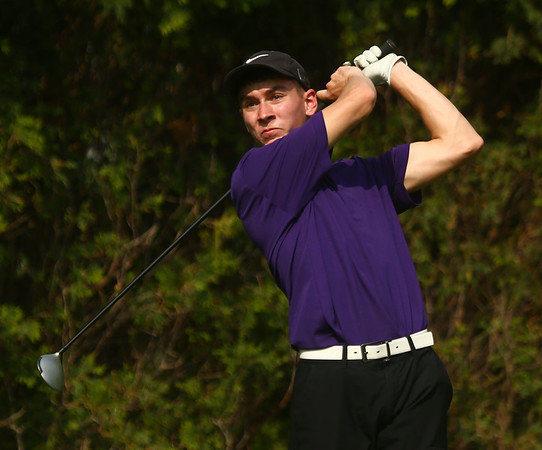 5-10-17<br /> KHS vs NWHS boys golf<br /> NWHS 1 Trajan Cunningham<br /> Kelly Lafferty Gerber | Kokomo Tribune