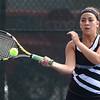 5-19-17<br /> Girls tennis sectional championship<br /> Western 1 Abigail Moreno<br /> Kelly Lafferty Gerber | Kokomo Tribune