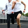5-3-17<br /> WHS vs NWHS track<br /> Western's Andrew Granfield and Josh Everetts in the 1600.<br /> Kelly Lafferty Gerber | Kokomo Tribune