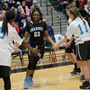 Our Lady of Mercy defeated Bishop Kearney in the Section V Class AA Girls Basketball Championship March 4, 2017 at Rush-Henrietta High School. 77-67 in overtime.
