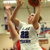 11-4-17<br /> Northwestern vs Twin Lakes girls basketball<br /> Taylor Boruff shoots.<br /> Kelly Lafferty Gerber   Kokomo Tribune