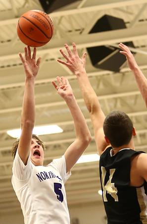 11-21-17<br /> Northwestern vs Madison Grant boys basketball<br /> <br /> Kelly Lafferty Gerber | Kokomo Tribune