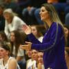 11-4-17<br /> Northwestern vs Twin Lakes girls basketball<br /> NW coach Kathie Layden<br /> Kelly Lafferty Gerber | Kokomo Tribune