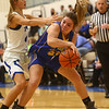 11-9-17<br /> Tipton vs Tri Central girls basketball<br /> TC's Carinne Henderson looks for a pass.<br /> Kelly Lafferty Gerber | Kokomo Tribune