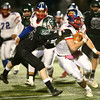 11-10-17<br /> Kokomo vs Zionsville regional<br /> Kyle Wade carries the ball.<br /> Kelly Lafferty Gerber | Kokomo Tribune