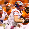 11-24-17<br /> Kokomo state football<br /> Kyle Wade runs the ball.<br /> Kelly Lafferty Gerber | Kokomo Tribune