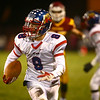 11-3-17<br /> Kokomo vs McCutcheon sectional championship<br /> Noah Cameron runs the ball after intercepting a pass.<br /> Kelly Lafferty Gerber | Kokomo Tribune