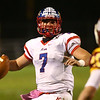 11-3-17<br /> Kokomo vs McCutcheon sectional championship<br /> Kyle Wade looks for a pass.<br /> Kelly Lafferty Gerber | Kokomo Tribune
