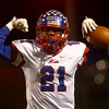 11-3-17<br /> Kokomo vs McCutcheon sectional championship<br /> Steven Edwards celebrates after scoring a touchdown.<br /> Kelly Lafferty Gerber | Kokomo Tribune