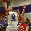 11-4-17<br /> Northwestern vs Twin Lakes girls basketball<br /> NW's Madison Layden shoots.<br /> Kelly Lafferty Gerber | Kokomo Tribune