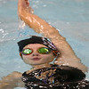 11-30-17<br /> Northwestern vs Logansport swimming<br /> Lauren Longshore doing the backstroke in the 200 Y Medley Relay.<br /> Kelly Lafferty Gerber | Kokomo Tribune