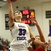11-4-17<br /> Northwestern vs Twin Lakes girls basketball<br /> Madison Layden shoots.<br /> Kelly Lafferty Gerber | Kokomo Tribune