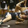 11-18-17 <br /> Western wrestling<br /> Luke Lechner in the 152.<br /> Kelly Lafferty Gerber | Kokomo Tribune