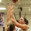 11-4-17<br /> Northwestern vs Twin Lakes girls basketball<br /> Kendall Bostic shoots.<br /> Kelly Lafferty Gerber | Kokomo Tribune