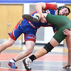 11-29-17<br /> Eastern vs Kokomo wrestling<br /> Kokomo's Austin Johnson takes down Eastern's Eli Elkins in the 160.<br /> Kelly Lafferty Gerber | Kokomo Tribune