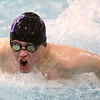 11-30-17<br /> Northwestern vs Logansport swimming<br /> NW's Austin Huskey in the boys 200 Yard IM.<br /> Kelly Lafferty Gerber | Kokomo Tribune