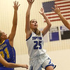 11-9-17<br /> Tipton vs Tri Central girls basketball<br /> Tipton's Rachael Ressler shoots.<br /> Kelly Lafferty Gerber | Kokomo Tribune