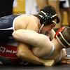 11-18-17 <br /> Western wrestling<br /> Luke Lushin in the 195.<br /> Kelly Lafferty Gerber | Kokomo Tribune