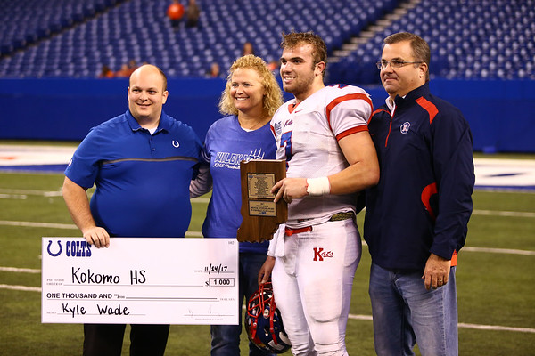 11-24-17<br /> Kokomo state football<br /> <br /> Kelly Lafferty Gerber | Kokomo Tribune