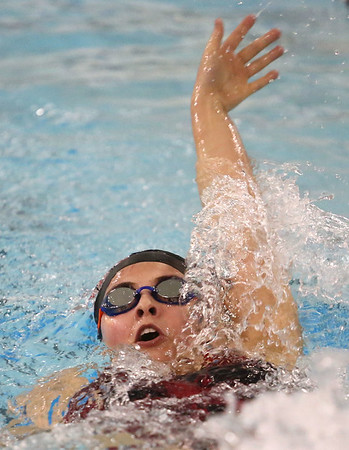 11-30-17<br /> Northwestern vs Logansport swimming<br /> Erika Mullins (Logansport) in the Girls 200 Yard IM.<br /> Kelly Lafferty Gerber | Kokomo Tribune