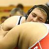 11-18-17 <br /> Western wrestling<br /> Lane Eubank in the 285.<br /> Kelly Lafferty Gerber | Kokomo Tribune
