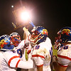 11-3-17<br /> Kokomo vs McCutcheon sectional championship<br /> Kokomo celebrates with the sectional trophy.<br /> Kelly Lafferty Gerber | Kokomo Tribune