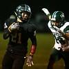 10-27-17<br /> Western vs Pendleton Heights football<br /> Kitchel Gifford runs the ball.<br /> Kelly Lafferty Gerber | Kokomo Tribune