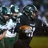 10-27-17<br /> Western vs Pendleton Heights football<br /> Kitchel Gifford outruns PH defense to score a touchdown.<br /> Kelly Lafferty Gerber | Kokomo Tribune