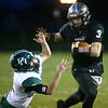 10-27-17<br /> Western vs Pendleton Heights football<br /> Tyler Knepley runs the ball.<br /> Kelly Lafferty Gerber | Kokomo Tribune
