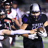 10-20-17<br /> Northwestern vs Blackford football<br /> TJ Macaluso runs the ball.<br /> Kelly Lafferty Gerber | Kokomo Tribune