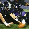 10-20-17<br /> Northwestern vs Blackford football<br /> NW's Patrick Harris and Noah Cavazos go after a loose ball.<br /> Kelly Lafferty Gerber | Kokomo Tribune