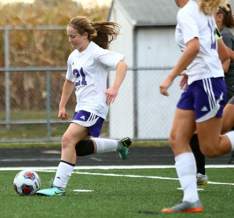 10-3-17<br /> Northwestern vs Delphi girls soccer<br /> Kate Miller<br /> Kelly Lafferty Gerber | Kokomo Tribune