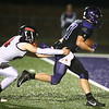 10-20-17<br /> Northwestern vs Blackford football<br /> NW's Evan Cardwell makes a touchdown.<br /> Kelly Lafferty Gerber | Kokomo Tribune
