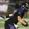 10-20-17<br /> Northwestern vs Blackford football<br /> Evan Cardwell runs the ball.<br /> Kelly Lafferty Gerber | Kokomo Tribune