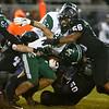 10-27-17<br /> Western vs Pendleton Heights football<br /> Western's defense takes down PH Joseph Rios.<br /> Kelly Lafferty Gerber | Kokomo Tribune