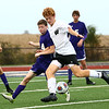 10-4-17<br /> Western vs Northwestern boys soccer<br /> Western's John Maher.<br /> Kelly Lafferty Gerber | Kokomo Tribune