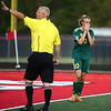 10-7-17<br /> Eastern vs Liberty Christian boys soccer sectional championship<br /> Eastern's Lance Vanmatre reacts after missing the goal during the shootout.<br /> Kelly Lafferty Gerber | Kokomo Tribune