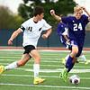10-4-17<br /> Western vs Northwestern boys soccer<br /> Western's Connor Rezo and NW's Jackson Hale.<br /> Kelly Lafferty Gerber | Kokomo Tribune