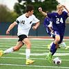 10-4-17<br /> Western vs Northwestern boys soccer<br /> Western's Connor Rezo and NW's Jackson Hale.<br /> Kelly Lafferty Gerber | Kokomo Tribune