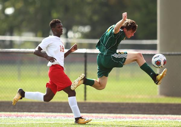 10-7-17<br /> Eastern vs Liberty Christian boys soccer sectional championship<br /> <br /> Kelly Lafferty Gerber   Kokomo Tribune