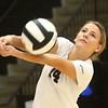 10-21-17<br /> Carroll vs Rochester volleyball<br /> Sidney Fisher<br /> Kelly Lafferty Gerber | Kokomo Tribune