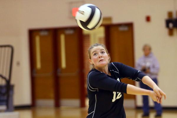 Volleyball sectional between Western HS and Maconaquah HS on October 12, 2017.<br /> Tim Bath   Kokomo Tribune