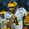Panther quarterback Jack Kiser runs in another touchdown for Pioneer in the first quarter in their 55-21 victory over Carroll on Friday night. Fran Ruchalski | Pharos-Tribune