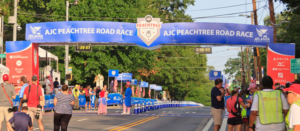 2017 Peachtree Roadrace