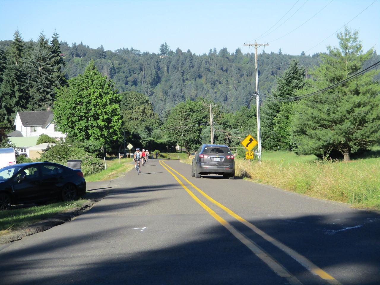 2017 Petal Pedal, 70 mi. The 15% hill climb...
