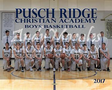 2017 Pusch Ridge boys basketball